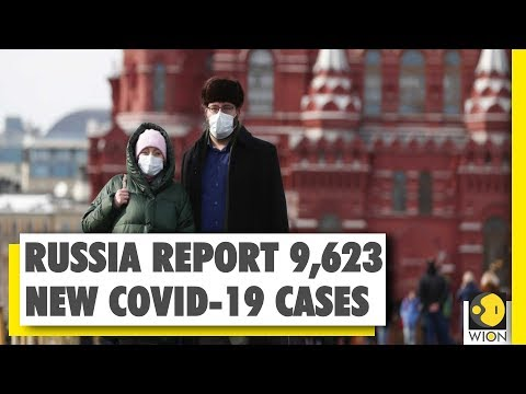 Russia: 1,24,054 people tests positive for pandemic COVID-19; 9,623 new cases in 24-hr