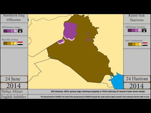 Kuzey Irak Taarruzu/Northern Iraq Offensive(2014)