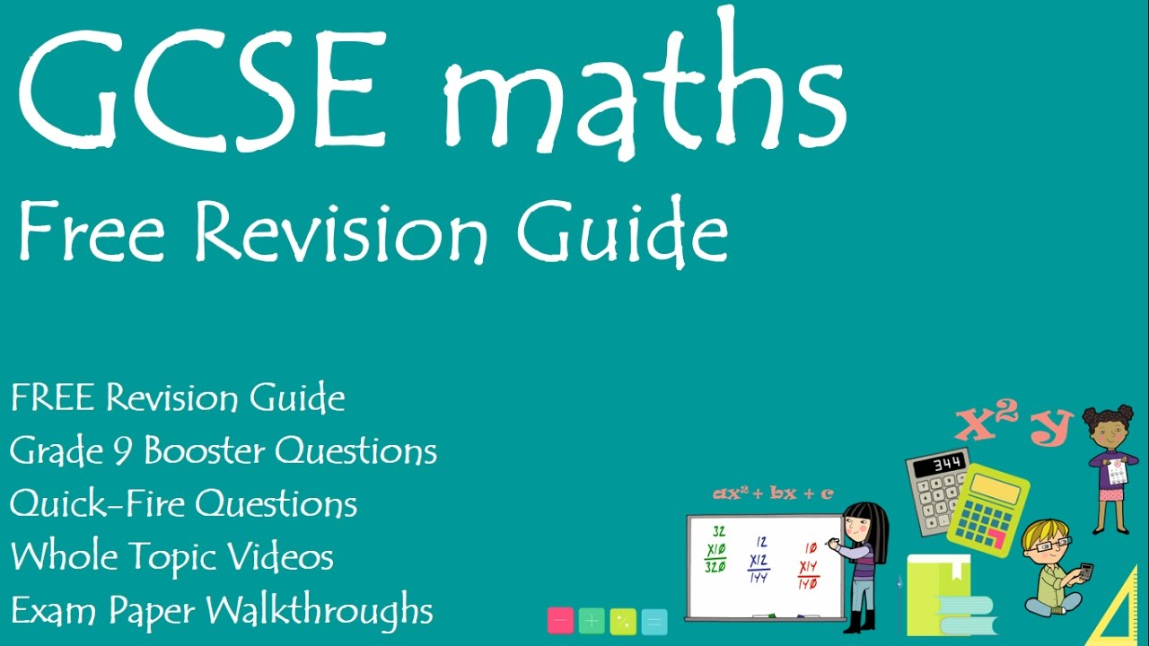 FREE Revision Guide for GCSE Maths - YouTube