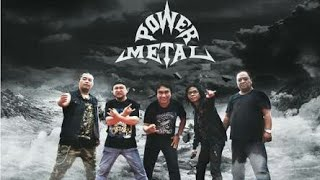 Hukum Rimba ~ Power Metal | Karaoke Tanpa vocal | Lirik + Duet ~ HD Quality