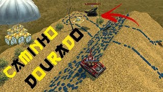 Tanki Online - CAMINHO DOURADO (novo mini-game) | ROAD OF GOLD (new mini-game)