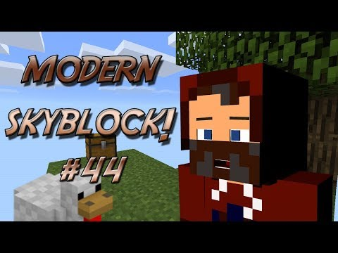 """OIL POWER!"" MODERN SKYBLOCK #44"