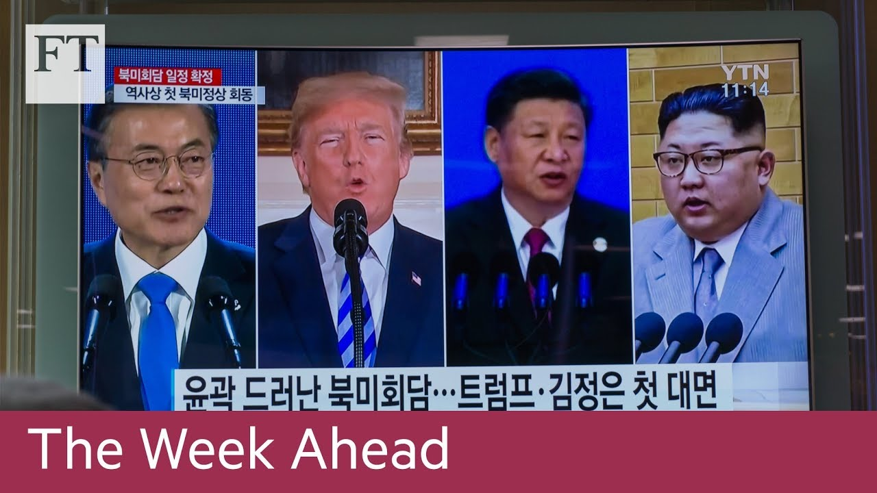 Download US-South Korea meeting, Colombia election, Irish abortion vote