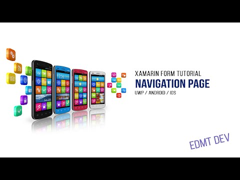 Xamarin Form Tutorial -  3.Navigation Page