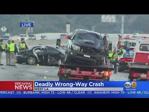 4 Wrong-Way Crashes Unfold On Southern California Roads