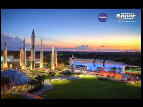 NASA Kennedy Space Center Tour - Florida 2016