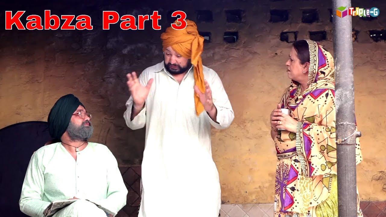 CHACHA BISHNA II BIRA SHARABI II NEW PUNJABI COMEDY 2019 Clip II  Kabza Part 03 Comedy Clip ||