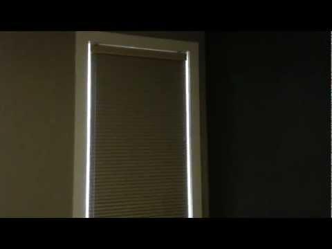 Blackout Cellular Shades - Sun-up/Sun-Down -  Devine Blinds