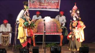 yakshagana jambavati kalyana by the students of shankar balkudru part 8