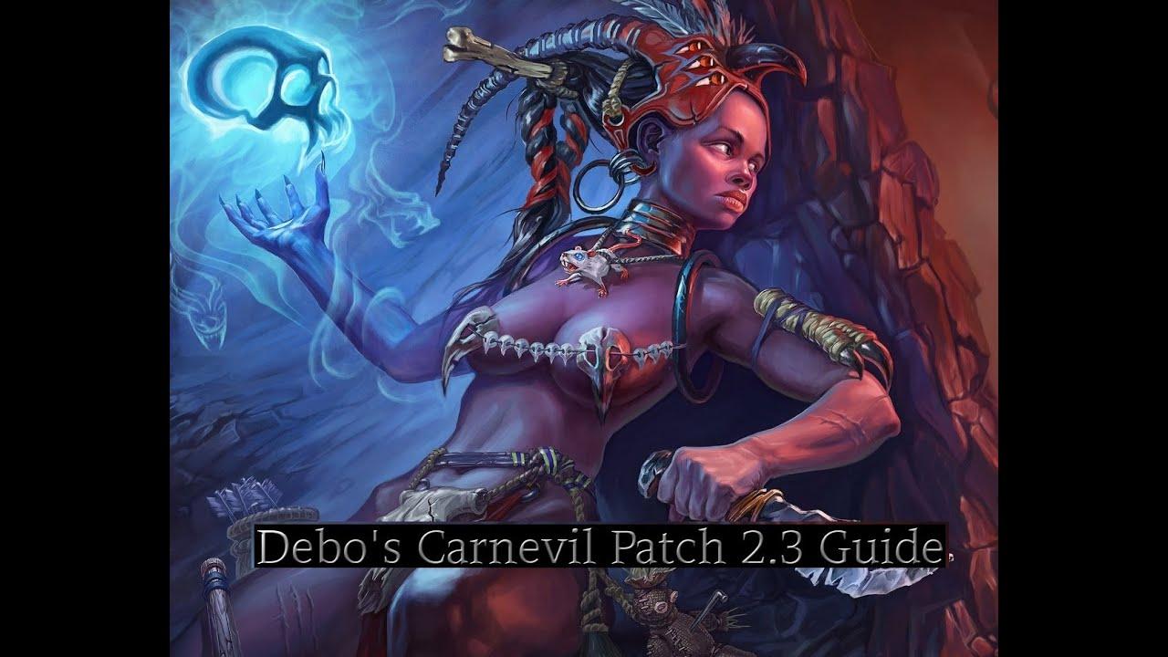 """Debo's """"Carnevil 2.3 Greater Rift 60 Guide"""" - YouTube"""