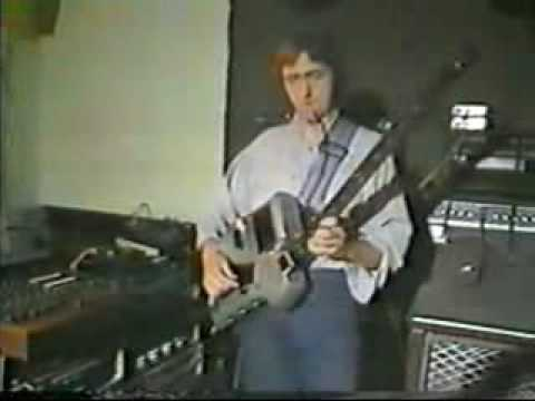 Allan Holdsworth Interview and SynthAxe performance.