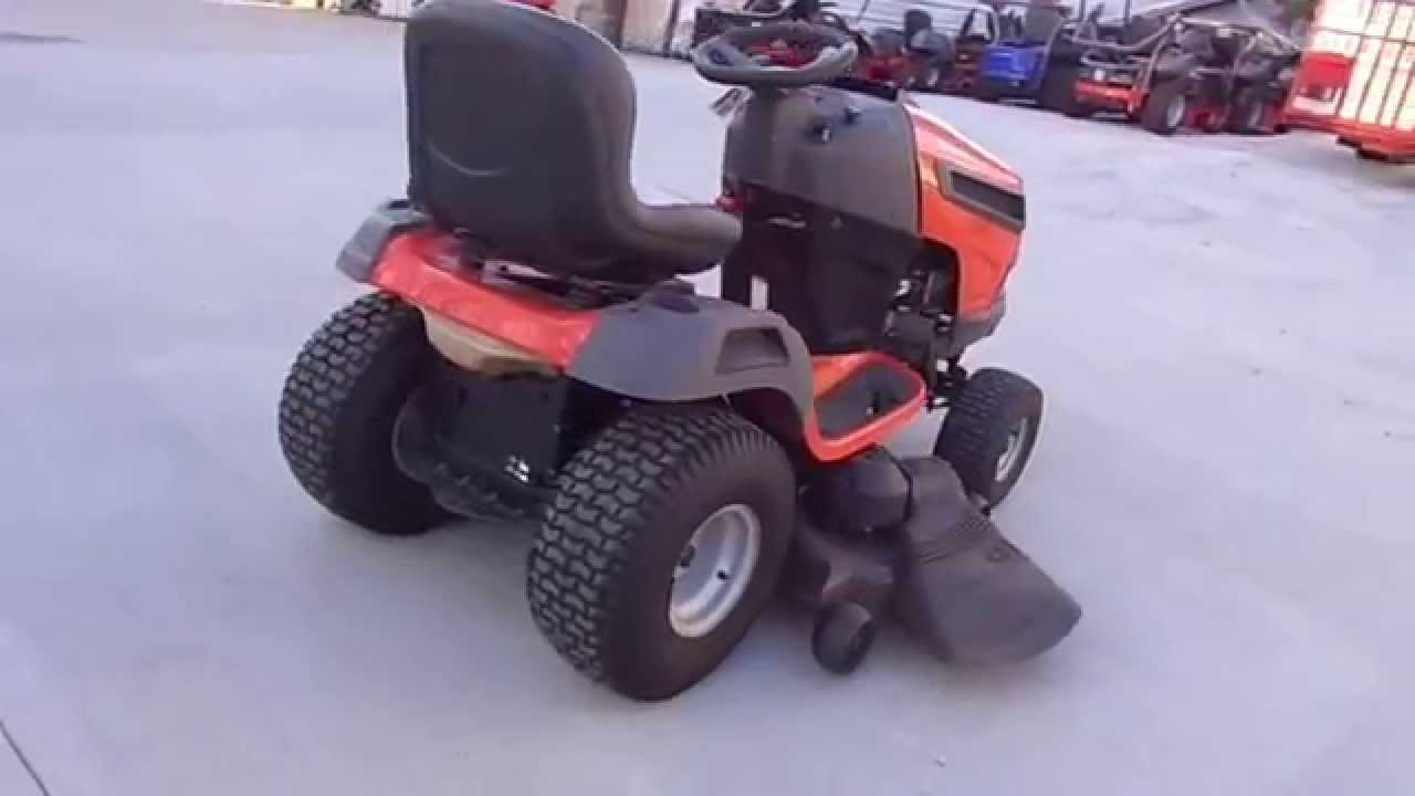 Husqvarna Yth2348 Used 48 Quot Yard Tractor 23 Hp Briggs Intek