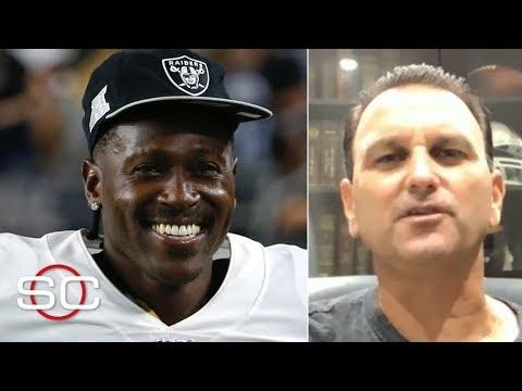 Drew Rosenhaus explains Antonio Brown's Raiders' release, signing with the Patriots   SportsCenter