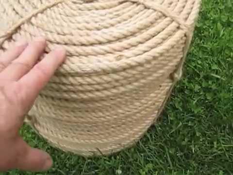 Поделки из пеньковой веревки своими руками 196