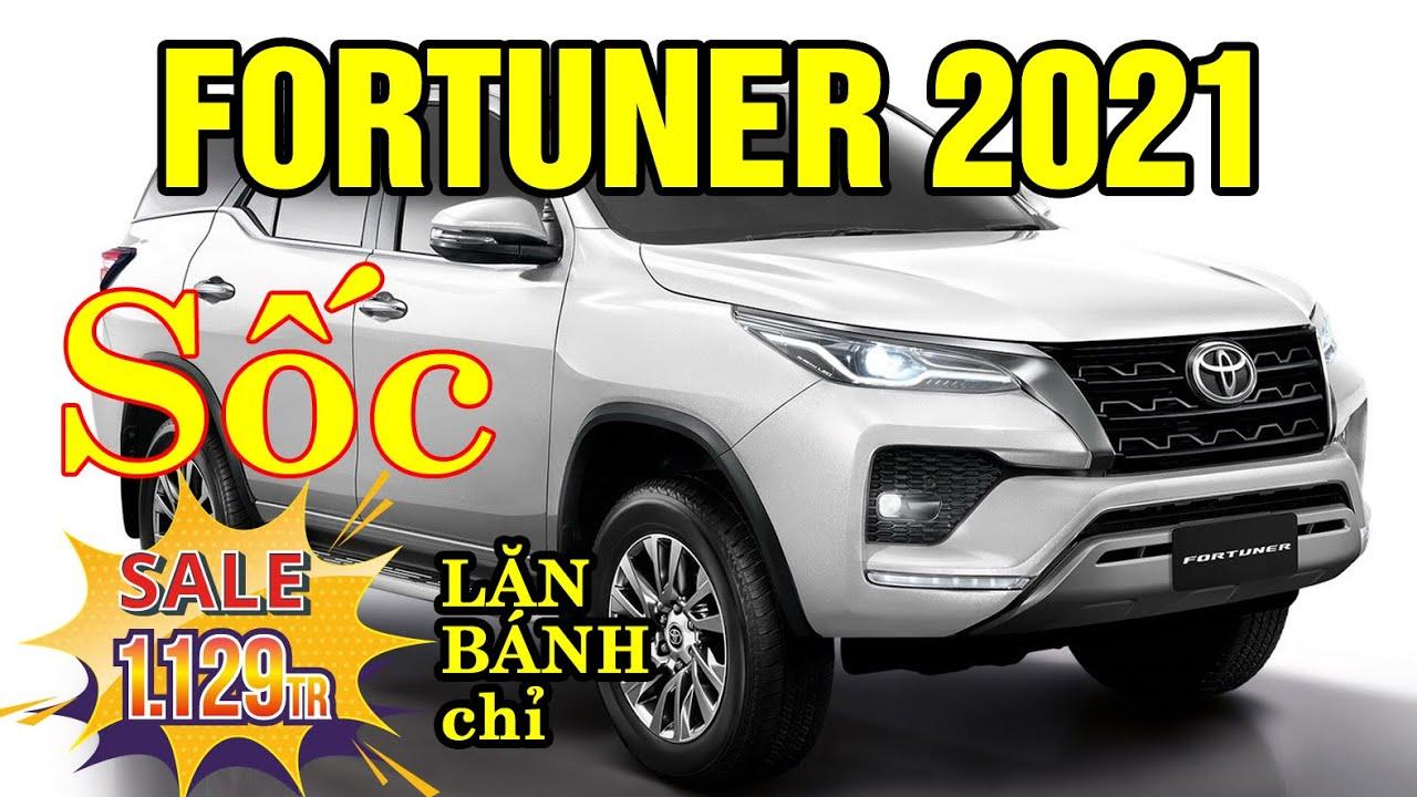 Cập nhật giá xe Toyota Fortuner 2021 Máy Dầu Số Tự Động tháng 10/2020 Giảm Giá Shok