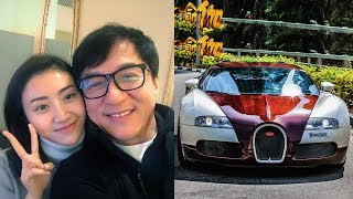 Jackie Chan New Car Collection & Private Jet  and Girlfriend ★ 2018