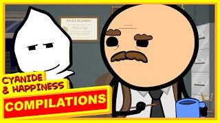 Repeat youtube video Cyanide & Happiness Compilation - #9