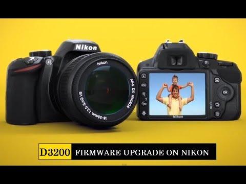 Upgrading firmware on Nikon DSLR