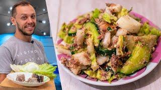 Полезный летний салат с огурцами и тунцом «Наведи фигуру» станет вашей кулинарной фишкой