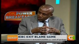 Power Breakfast News Review: Iebc exit blame game