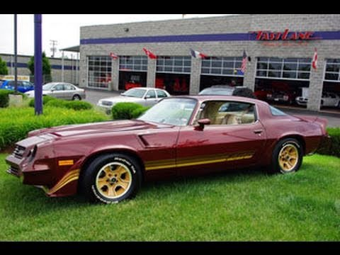 1981 Chevrolet Camaro Z28 48xxx Original Miles Youtube