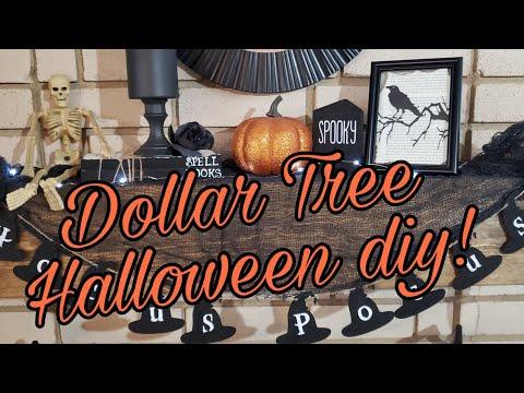 Dollar tree DIY Halloween decor!