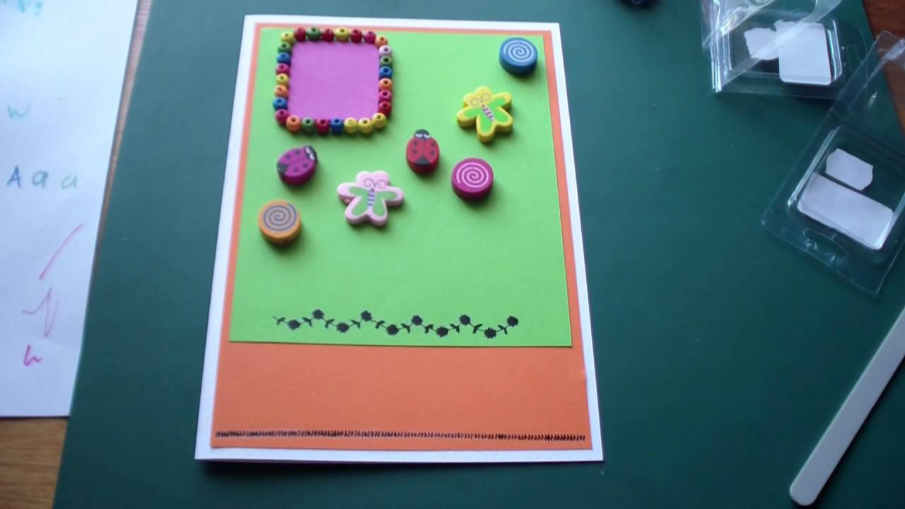 Birthday Card For A One Year Old