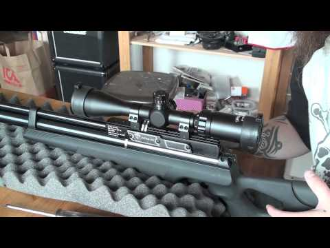 Hatsan AT44-10 Cal .22 (5.5mm) // Unboxing + Overview