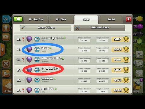 MOST UNIQUE CLAN IN CLASH OF CLANS WITH TWO LEADERS, No hack
