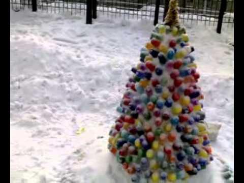 Снежные скульптуры  для детского сада 28