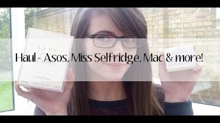 Haul - Asos, Miss Selfridge, Mac & more! Thumbnail
