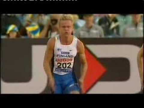Finnish Sprinter Visa Hongisto