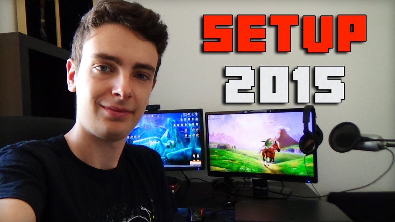 Setup 2015 mon bureau youtube for Bureau youtube