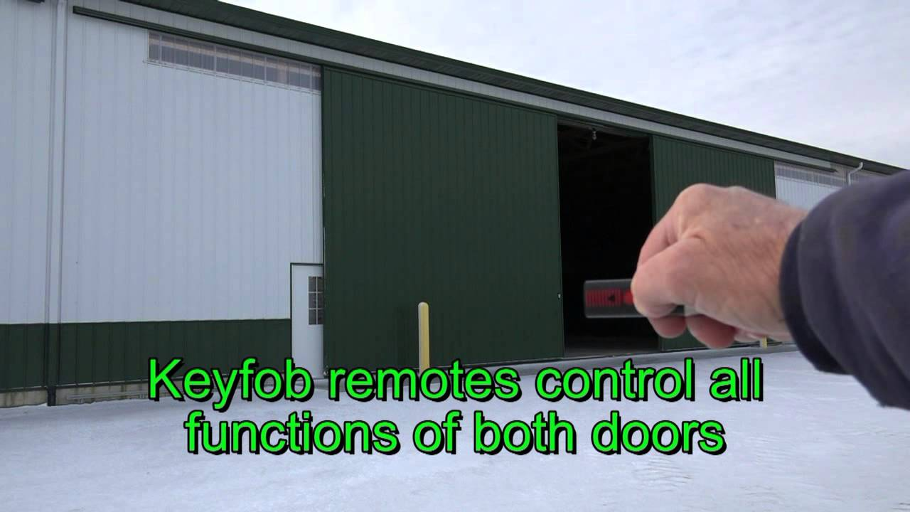 Automated Sliding Door Opener Install Youtube
