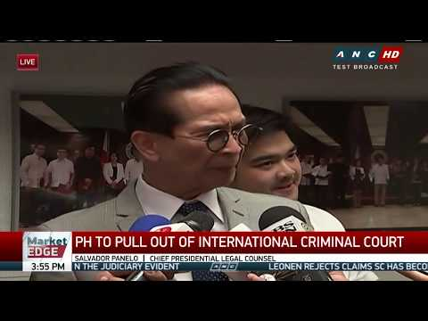 WATCH: Chief Presidential Legal Counsel Panelo speaks to reporters | 14 March 2018