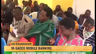 Uccfs launches MSACCO Mobile Banking