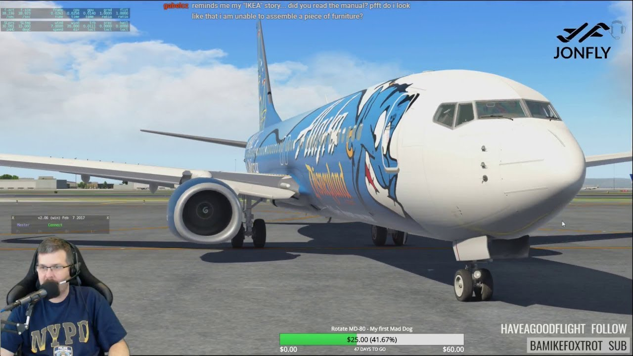 The NEW 2018 WAY to Zibo & RG mod default Boeing 737-800 X-Plane 11