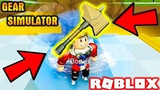 ROBLOX | Vamy Sở Hữu Búa Thor Bá Đạo Dí KiA Chạy Tuột Quần | Gear Simulator | Vamy Trần
