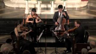 Attacca Quartet plays Haydn Op. 54 no. 3 -- Third Movement