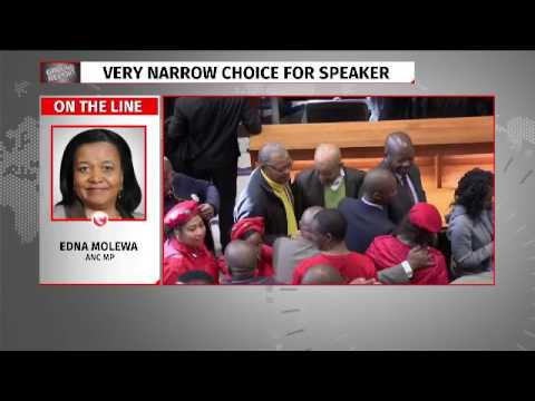 Edna Molewa reacts to secret ballot judgement