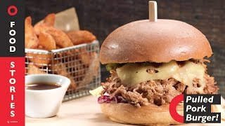 Pulled Pork Burger with BBQ Sauce | Stohos Foods