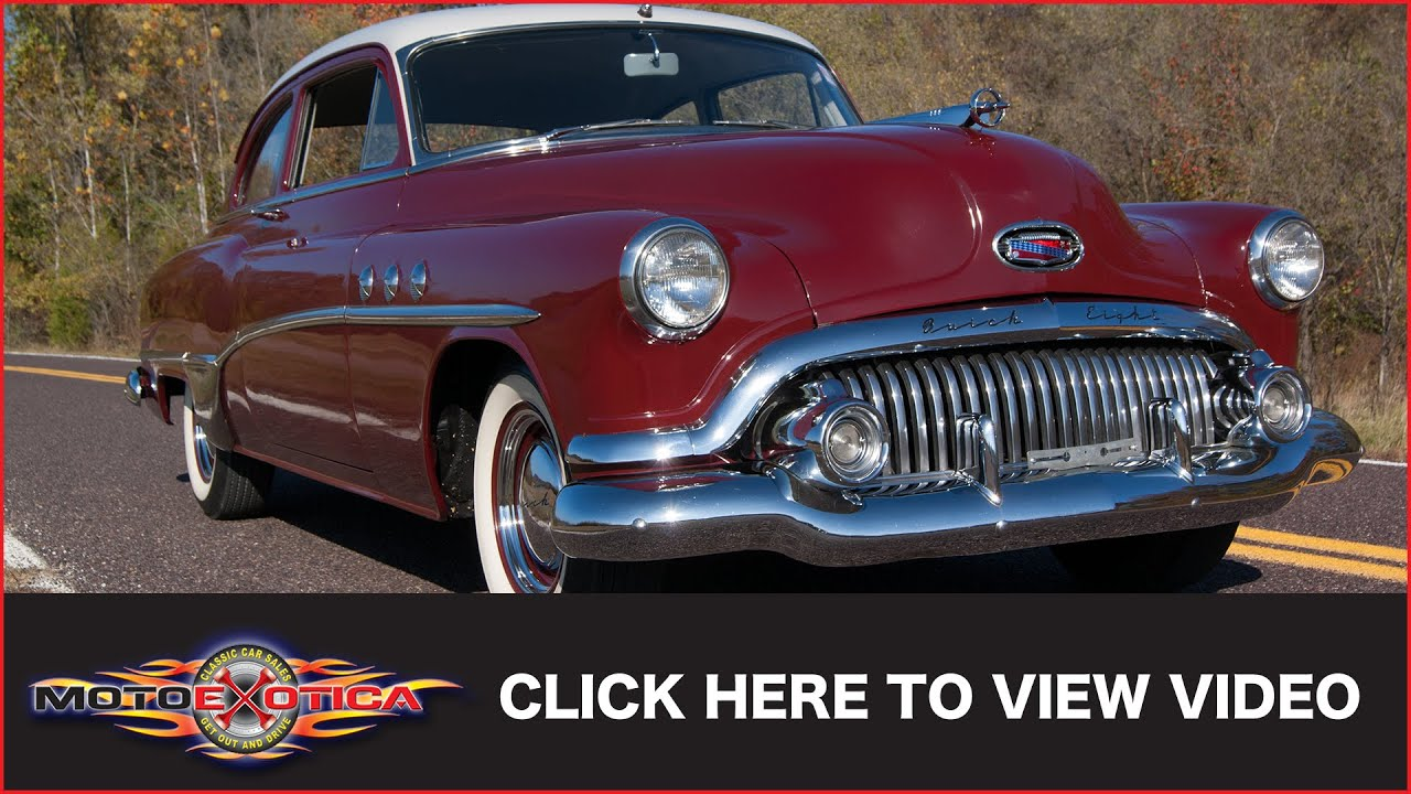 1951 Buick Special Sold Youtube Super Convertible