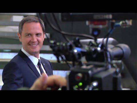 Backstage spot Banca Mediolanum - giugno 2015