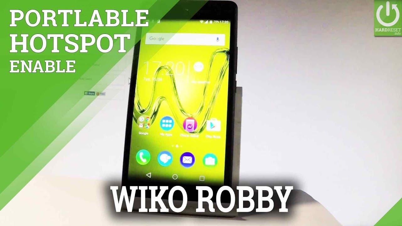 How to Enable Portable Hotspot WIKO Robby - Set Up Hotspot