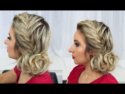 Penteado Com Trança Madrinha Por Priscila Barbosa Makeup