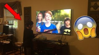 INSANE KID RAGES OVER BACK TO SCHOOL COMMERCIALS! *SMASHES TV*