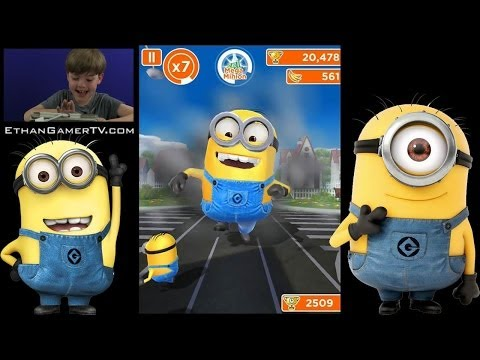 Ethan Gamer's FIRST VIDEO! Despicable Me: MINION RUSH!! from YouTube · Duration:  13 minutes 23 seconds