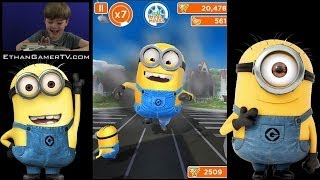 Let's play Mobile Games! Despicable Me: Minion Rush