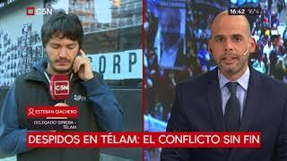 Despidos en Telam: el conflicto sin fin