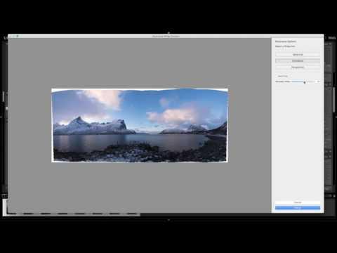 Create Panoramas Easily With Adobe Lightroom